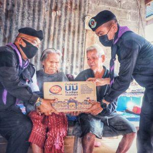 ฉก.ทพ.23 ร่วมกับผู้นำชุมชน เจ้าหน้าที่ รพ.สต.และ อสม.ออกพบปะเยี่ยมผู้พิการ, ผู้สูงอายุ/ผู้ป่วยติดเตียง